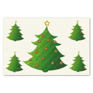 金クリスマスツリー 薄葉紙