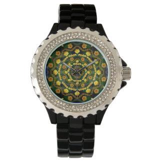 金ケシの曼荼羅の腕時計2 腕時計
