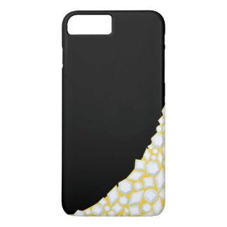 金ゴールドおよびダイヤモンドのiPhoneの場合(6/6sと)の黒 iPhone 8 Plus/7 Plusケース