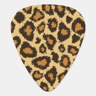 金ゴールドおよびブラウンのジャガーは|個人化なります ギター用ピック
