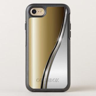 金ゴールドおよび銀製のAppleのiPhone 6/6sの対称シリーズ オッターボックスシンメトリーiPhone 8/7 ケース