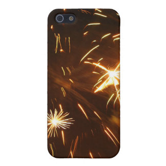 金ゴールドのきらめき iPhone 5 カバー