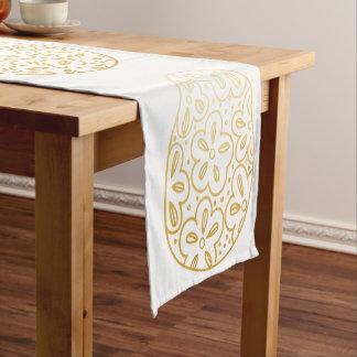 金ゴールドのイースターエッグのテーブルのランナー ショートテーブルランナー