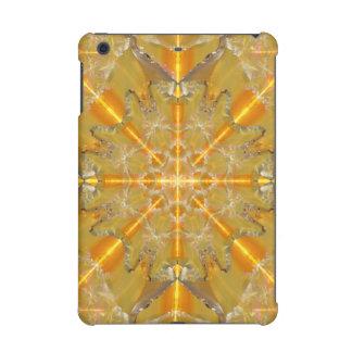 金ゴールドのオパールの星の曼荼羅 iPad MINI RETINAケース