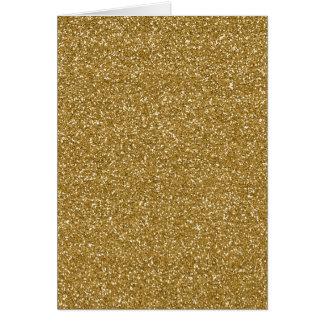金ゴールドのグリッターの背景のテンプレート カード