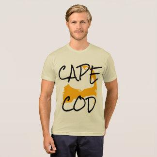 金ゴールドのケープコッドマサチューセッツワイシャツ2 Tシャツ