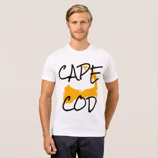 金ゴールドのケープコッドマサチューセッツワイシャツ Tシャツ