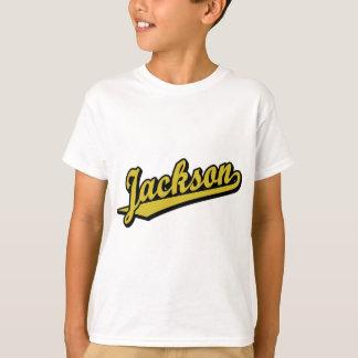 金ゴールドのジャクソン Tシャツ