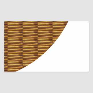 金ゴールドのストリップのデザイン: 新しいクリエイティブを使用して切り取られた芸術 長方形シール