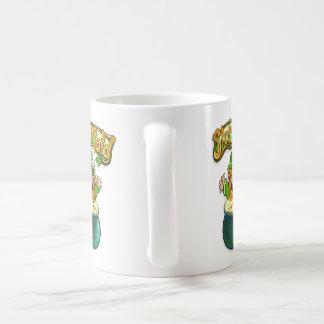 金ゴールドのトミーのマグのスロット コーヒーマグカップ