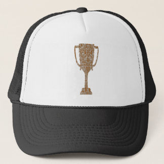 金ゴールドのトロフィ: 賞の報酬のお祝い キャップ