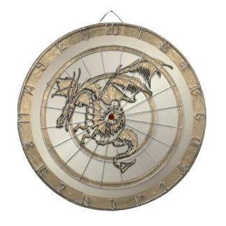 金ゴールドのドラゴンの規則のダート盤 ダーツボード