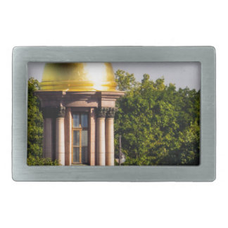 金ゴールドのドームSt Peterburgロシア 長方形ベルトバックル