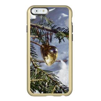 金ゴールドのハート INCIPIO FEATHER SHINE iPhone 6ケース