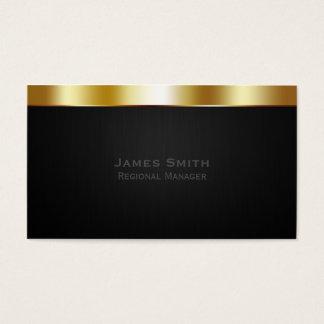 金ゴールドのプロフェッショナル 名刺