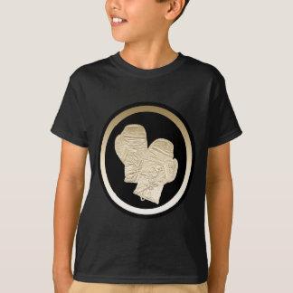金ゴールドのボクシンググラブ Tシャツ