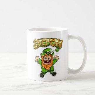 金ゴールドのマグのスロット コーヒーマグカップ