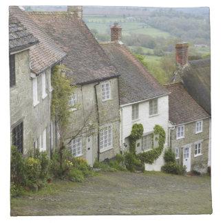 金ゴールドの丘、Shaftesbury、ドーセット、統一されたなイギリス ナプキンクロス