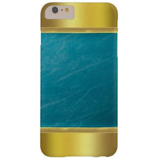 金ゴールドの先端のiPhone 6のプラスの場合 スキニー iPhone 6 Plus ケース
