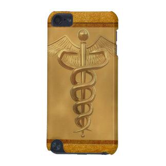 金ゴールドの医学のケリュケイオン iPod TOUCH 5G ケース