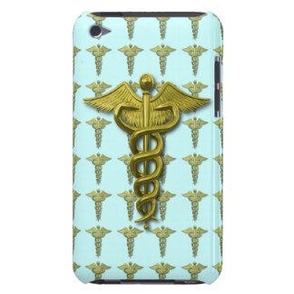 金ゴールドの医療専門家の記号 iPod TOUCH カバー
