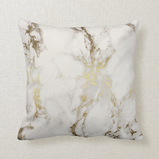 金ゴールドの大理石の枕 クッション