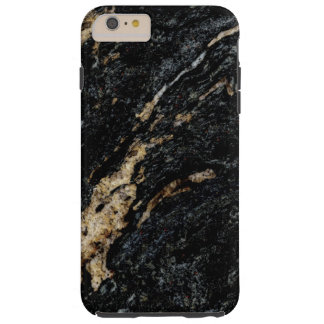 金ゴールドの大理石 TOUGH iPhone 6 PLUS ケース