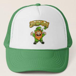 金ゴールドの帽子のトミースロット キャップ
