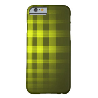 金ゴールドの幽霊のタータンチェックパターン BARELY THERE iPhone 6 ケース