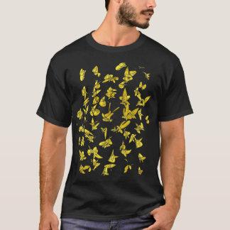 金ゴールドの形のTシャツ Tシャツ