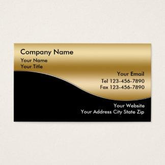 金ゴールドの投資の名刺 名刺