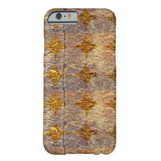 金ゴールドの点 BARELY THERE iPhone 6 ケース