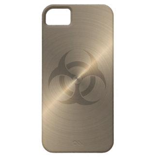 金ゴールドの生物学的災害[有害物質] iPhone SE/5/5s ケース