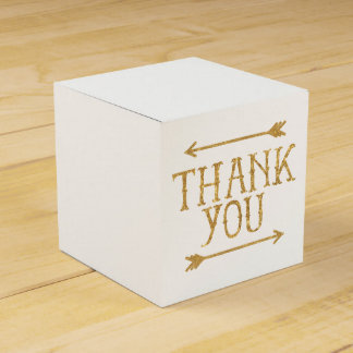 金ゴールドの矢はカスタマイズ可能な好意箱感謝していしています フェイバーボックス