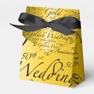 金ゴールドの結婚記念日