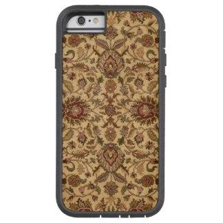 金ゴールドの花のアラベスクのオリエンタルのtapastery tough xtreme iPhone 6 ケース