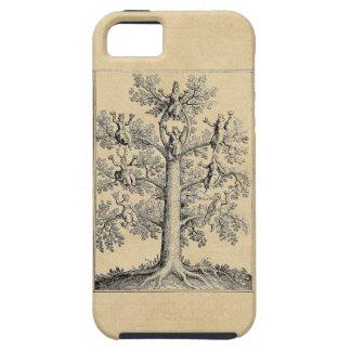 金ゴールドの解剖学 iPhone SE/5/5s ケース