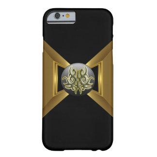 金ゴールドの豪華なスタイルのIPHONE6ケース BARELY THERE iPhone 6 ケース
