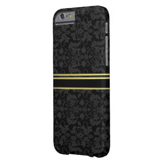 金ゴールドの豪華なダマスク織のスタイルのIPHONE6ケース BARELY THERE iPhone 6 ケース