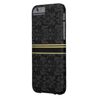金ゴールドの豪華なダマスク織のスタイルのIPHONE6ケース iPhone 6 ベアリーゼアケース