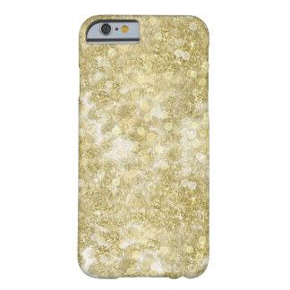 金ゴールドの輝きの《写真》ぼけ味の点 BARELY THERE iPhone 6 ケース