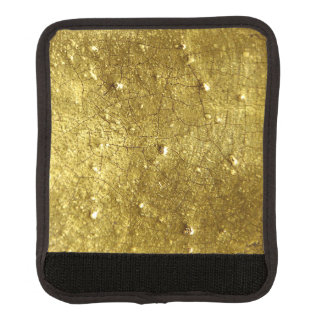 金ゴールドの金属の背景 ラゲッジ ハンドルラップ