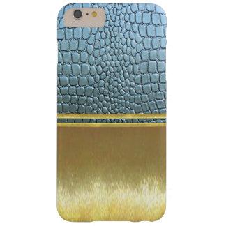 金ゴールドの錯覚は細い薬莢を冷却します BARELY THERE iPhone 6 PLUS ケース
