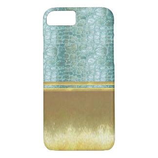 金ゴールドの錯覚はiPhone 7の細い薬莢を冷却します iPhone 8/7ケース