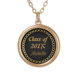 金ゴールドの鎖の卒業生のネックレス ゴールドプレートネックレス