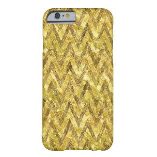 金ゴールドの魅力シェブロン BARELY THERE iPhone 6 ケース