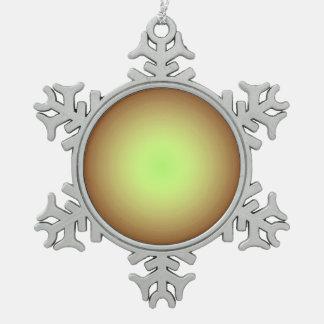 金ゴールドのDesign>Xmasの明白なオーナメント スノーフレークピューターオーナメント