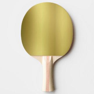 金ゴールドはテンプレートを消します ピンポンラケット