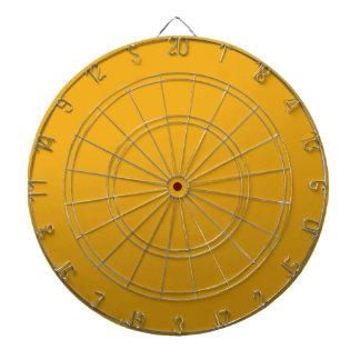 金ゴールドはテンプレートを消します: 文字、イメージ、盛り土色を加えて下さい ダーツボード