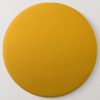 金ゴールドはテンプレートを消します: 文字、イメージ、盛り土色を加えて下さい 15.2CM 丸型バッジ